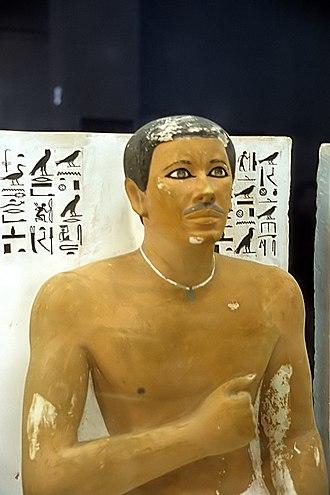 Khufu - Portrait of prince Rahotep.