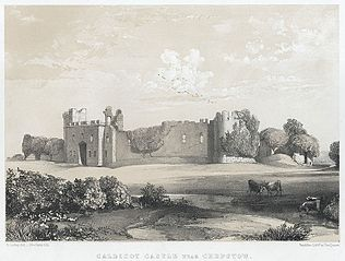 Caldicot Castle near Chepstow