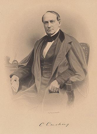 Caleb Cushing - Caleb Cushing