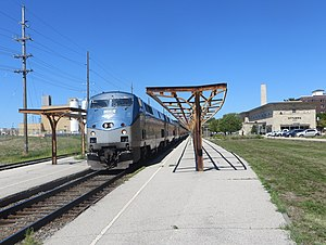 California Zephyr at Ottumwa, August 2017.jpg