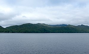 Calvert Island (British Columbia) - Calvert Island from the northeast