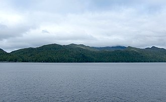 Calvert Island (British Columbia) - Calvert Island from the northeast
