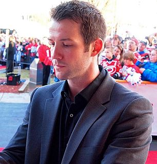 Cam Ward Canadian ice hockey player
