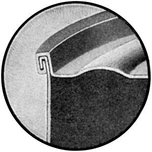 Hemming and seaming - A seam