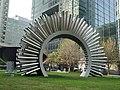 Canary Wharf Aeolus sculpture 2.JPG