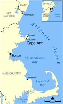 Paradise Massachusetts Map Cape Ann   Wikipedia