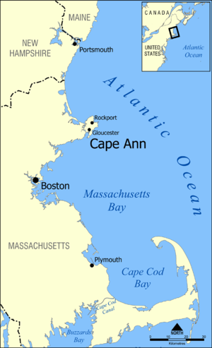 Cape Ann - Eastern Massachusetts, with Cape Ann