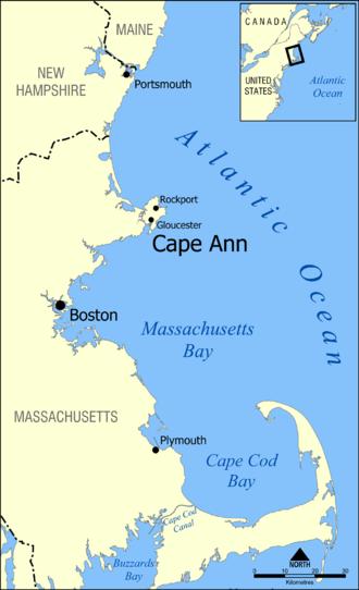 Cape Ann - Eastern Massachusetts, with Cape Ann