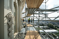 Capitol Dome Restoration - Early October 2014 (15275286649).jpg