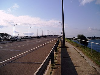 Captain Cook Bridge, New South Wales - Image: Captain Cook Bridge 01