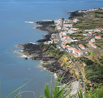 Lighthouse of Carapacho - A view of the village of Carapacho from the promontory of Restinga