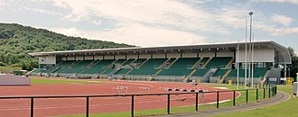 Cardiff Amateur Athletic Club - Cardiff International Sports Stadium, home of Cardiff Amateur Athletic Club