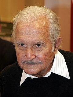 Carlos Fuentes Mexican writer