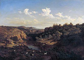 Carlos de Haes - Image: Carlos de Haes View near Monasterio de Piedra