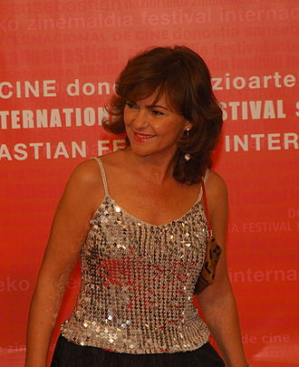 Carmen Calvo Poyato - Minister Calvo in the 2006 San Sebastián International Film Festival
