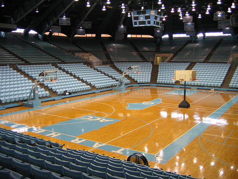 University Of North Carolina Basketball Court