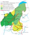 Carte de la Cité de Vienne, au Bas et au Haut-Empire.PNG