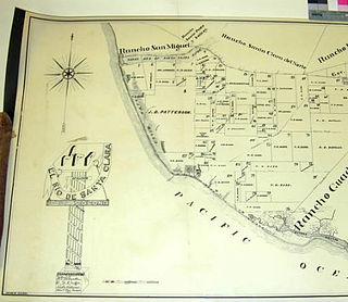 Rancho El Rio de Santa Clara o la Colonia 44,883-acre Mexican land grant in Ventura County, California