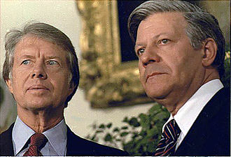 Helmut Schmidt - U.S. President Jimmy Carter and Schmidt in July 1977