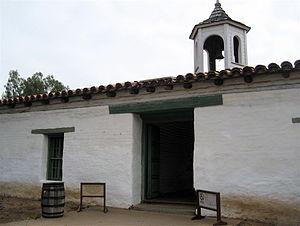 Casa de Estudillo - Main entrance