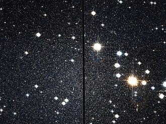 Cassiopeia Dwarf - Cassiopeia Dwarf by HST/WikiSky