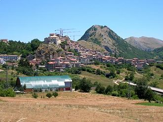 Castelgrande with Monte Giano.JPG
