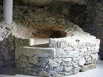 Castell de la Trinitat - Image: Castell de la Trinitat, antic forn
