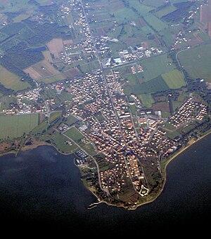 Castiglione del Lago - Aerial view