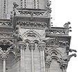 Cathedral Notre-Dame de Paris (France), Gargoyles in West facade (cropped).JPG