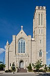 Cathedral of St. Mary, Cheyenne, WY, West view 20110823 2.jpg