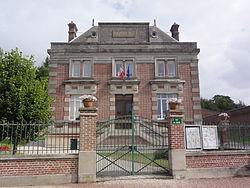 Caulaincourt (Aisne) mairie.JPG
