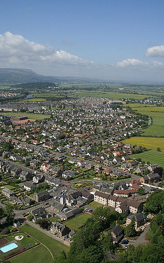Stirlingshire - Image: Causewayhead from the Wallace Monument geograph.org.uk 1027241
