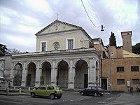 Celio - santa Maria in Domnica 1831.JPG