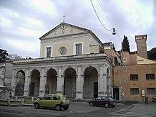 Celio - santa Maria in Domnica 1831