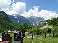 Cemetery outside Catholic Church - Theth Village - Northern Albania (28864923438).jpg