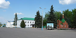 Spassk central square