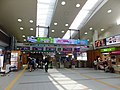 Central ticket gate of Akita Station 20180429.jpg
