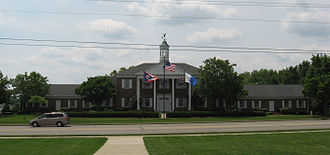 Centerville, Ohio - Centerville Municipal Building, the seat of government for the city