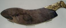 Cuchillo ceremonial de época arcaica. Royal Ontario Museum