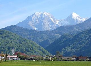 Cerklje na Gorenjskem Place in Upper Carniola, Slovenia