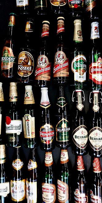 Beer in the Czech Republic - Czech beer brands