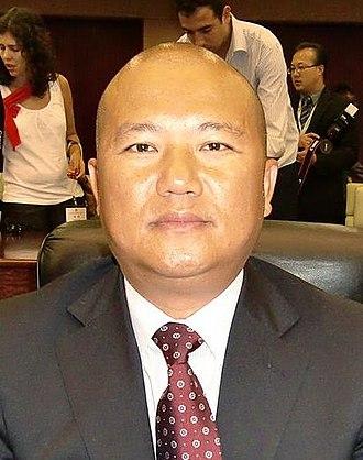 2009 Macanese legislative election - Image: Chan Meng Kam (cropped)