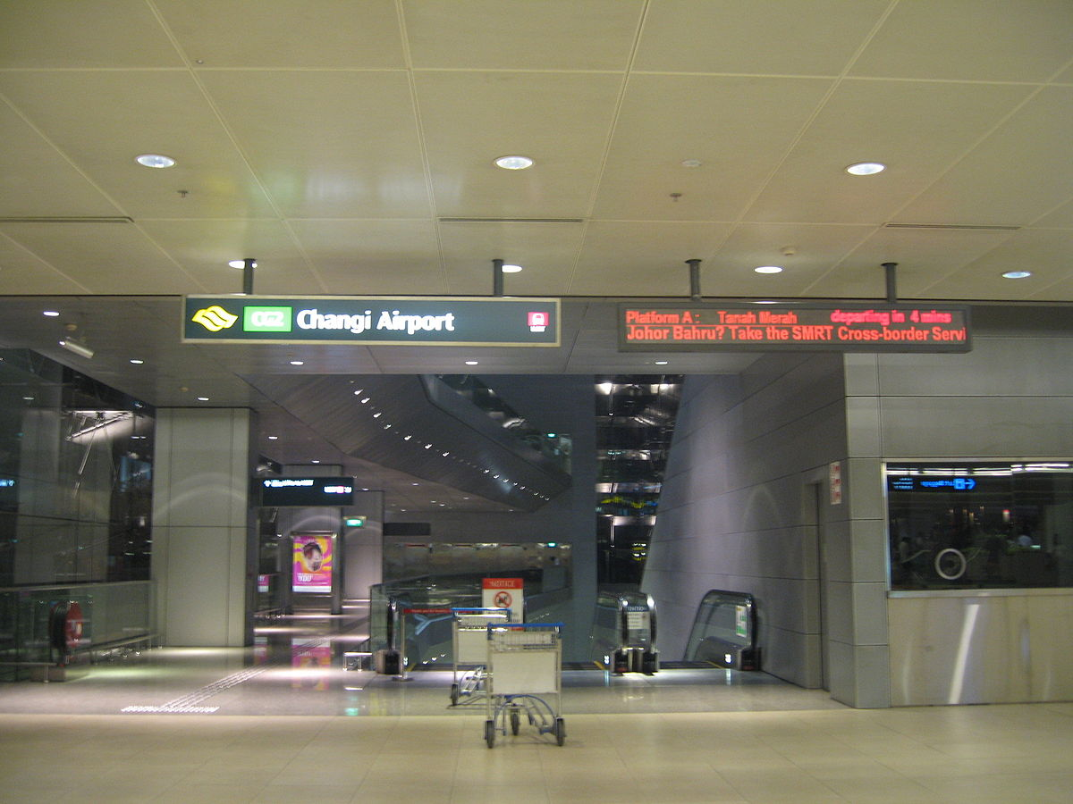 Stasiun Mrt Changi Airport Wikipedia Bahasa Indonesia