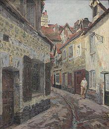 Charles-Hubert Dufour, rue du vieil abattoir à Dieppe, 1901.jpg