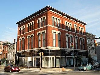 Old Baltimore College of Dental Surgery - Image: Charles Fish Baltimore