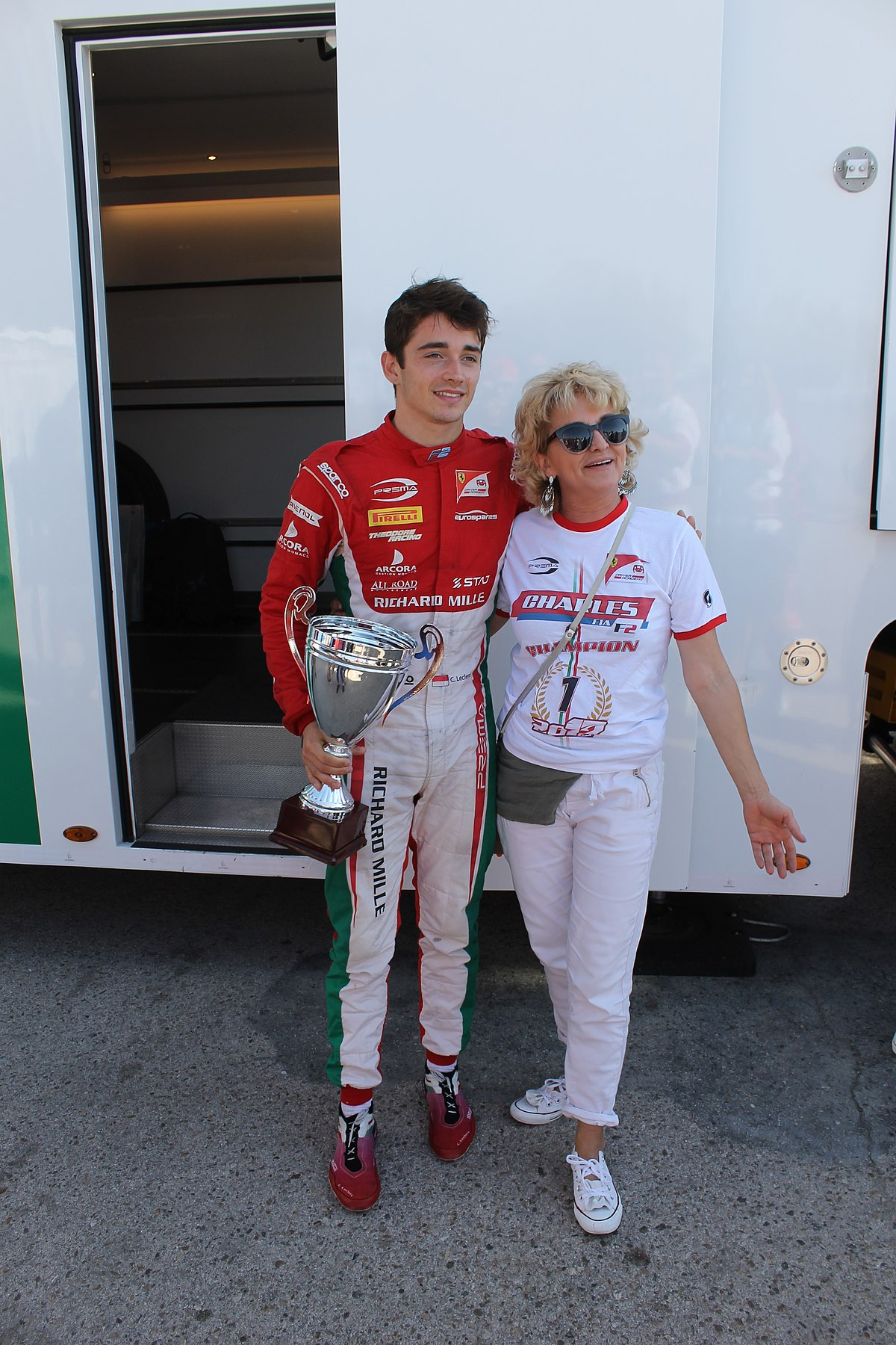 Car Of The Year >> Charles Leclerc (racing driver) - Wikipedia