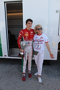 Charles Leclerc after winning F2 championship.jpg