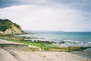 Charlestown, Cornwall - Image: Charlestown Beach St Austell Cornwall