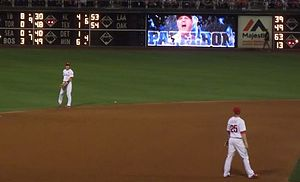 Cody Asche - Asche (right) has drawn comparisons to fellow infielder Chase Utley (left)