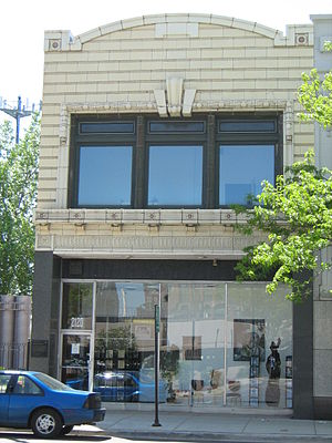 Chess Records - Chess Studios, 2120 South Michigan Ave., Chicago, later Willie Dixon's Blues Heaven Foundation (photo 2009)